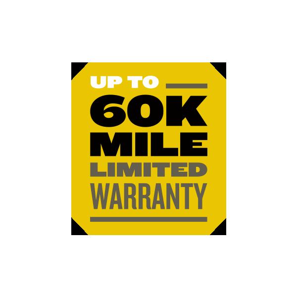 60k mile warranty